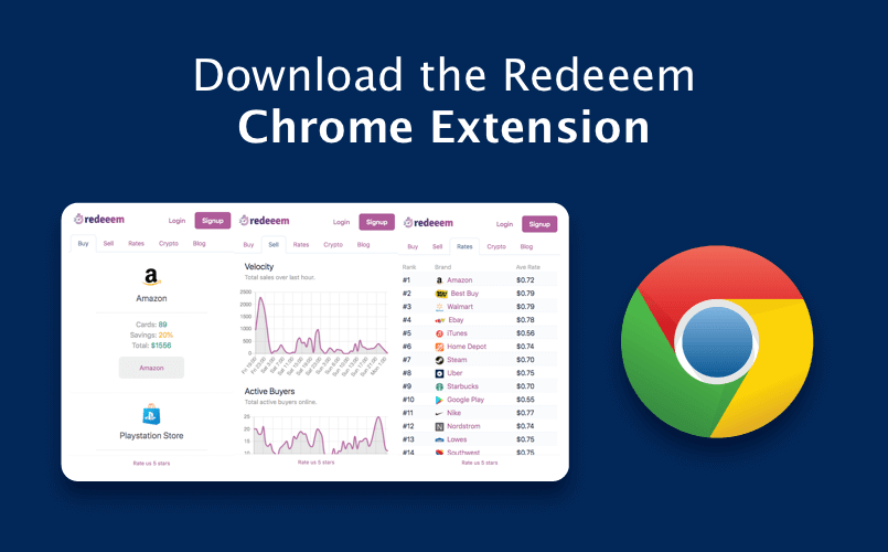 Announcing Redeeem's Chrome Browser Extension