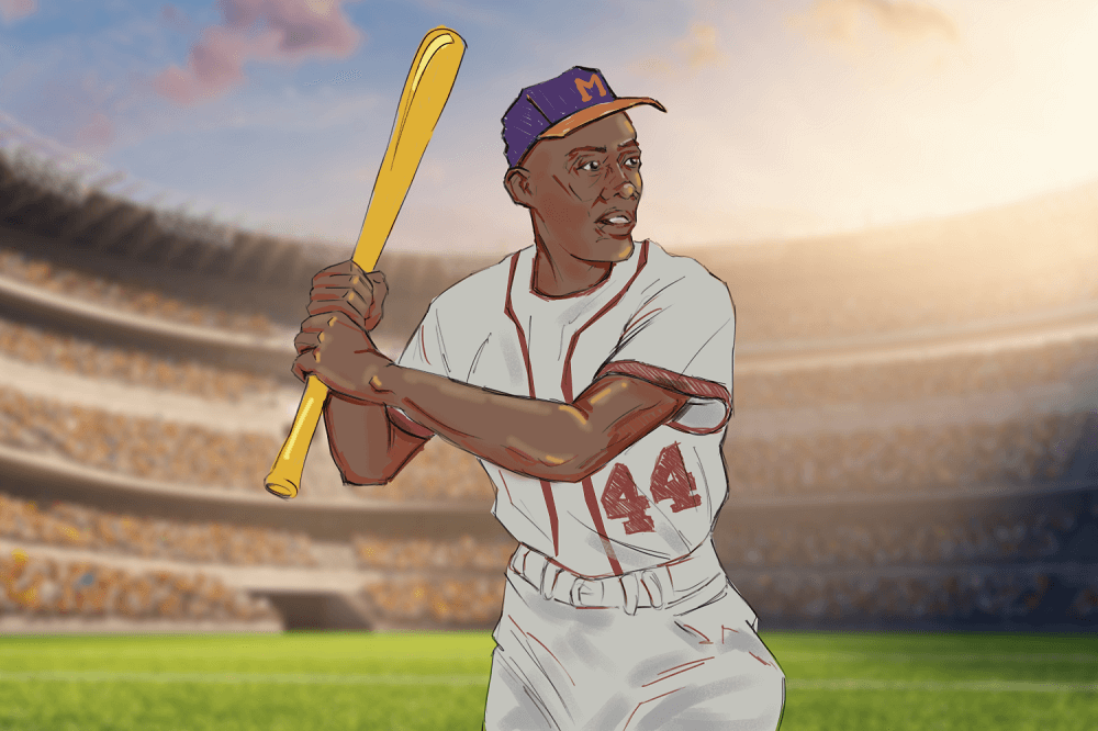 We remember Hank Aaron, the home run king