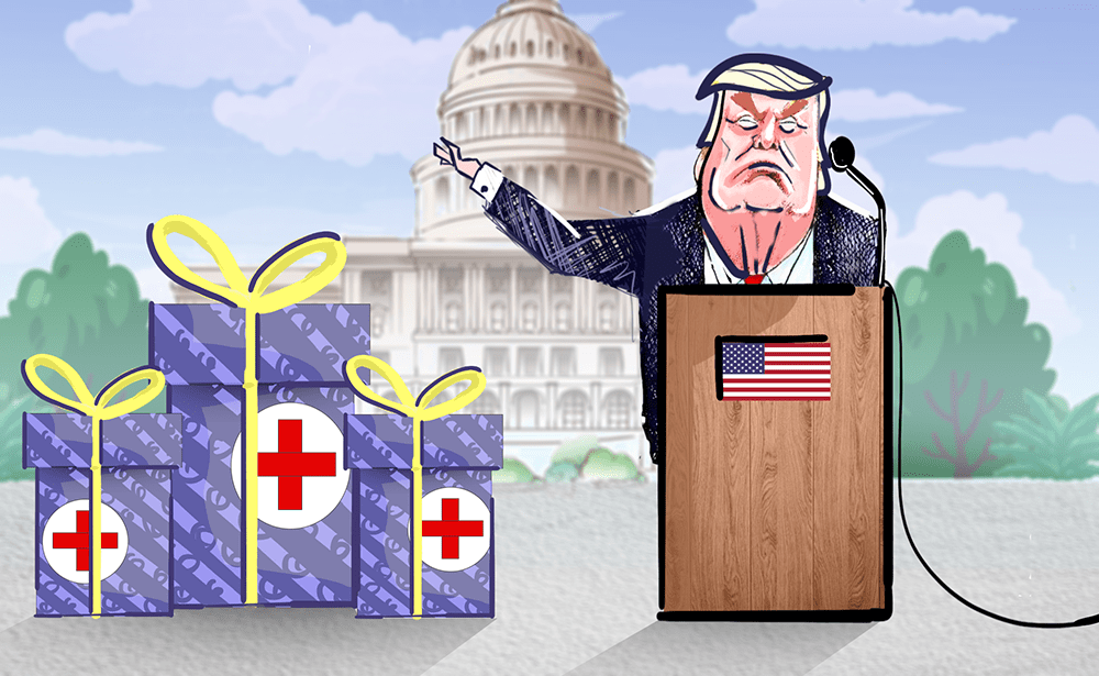Trump sending $200 gift cards to 33 million seniors to pay for prescription drugs