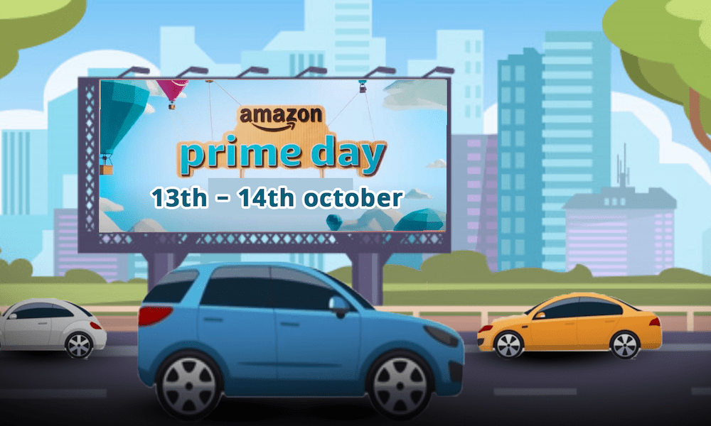Amazon Prime Day is October 13 and 14 this week