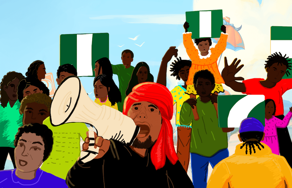 Nigerian forces have killed at least 56 peaceful protesters in October