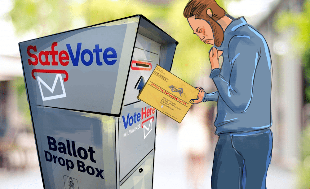 The U.S. Postal Service (USPS) filed a patent for blockchain mail-in voting