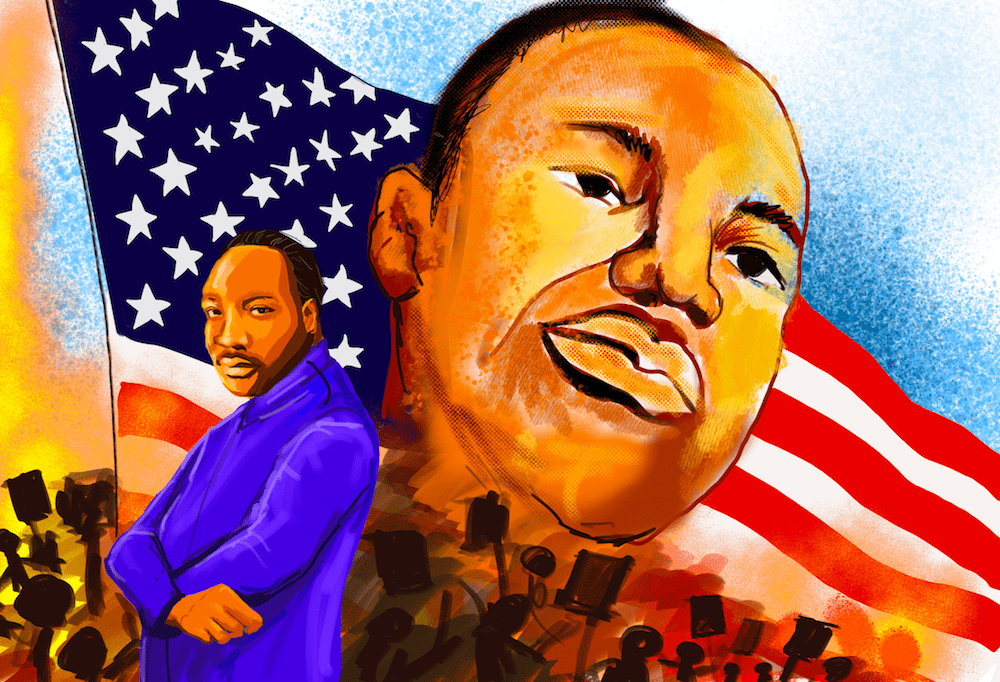 U.S. economic policy lacks historical context, said Martin Luther King